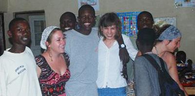 Lucy in Rwanda