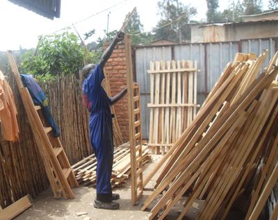 New beds for Ubaka U Rwanda